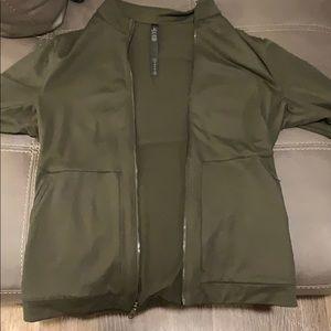 Lululemon Full Zip Pullover/Sweater, Light Matrial